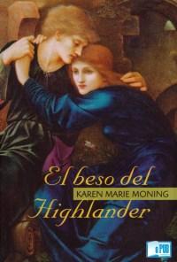 El beso del highlander - Karen Marie Moning portada