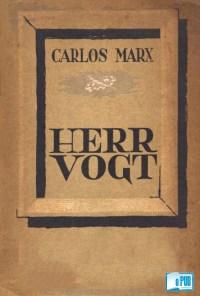 Herr Vogt - Karl Marx portada