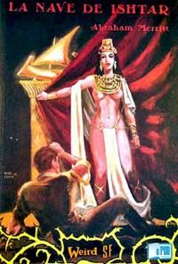 La nave de Ishtar - Abraham Merritt portada