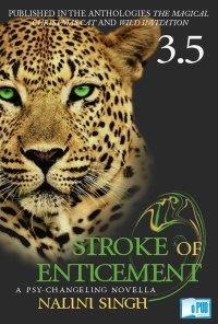 Stroke of enticement - Nalini Singh portada