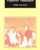 Habla, memoria - Vladimir Nabokov portada
