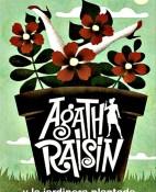 Agatha Raisin y la jardinera plantada - M. C. Beaton portada