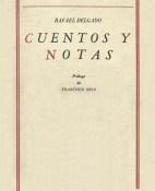 Cuentos y notas - Rafael Delgado portada