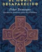 El monje desaparecido - Peter Tremayne portada