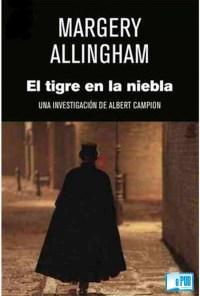 El tigre en la niebla - Margery Allingham portada