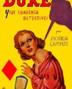 Duke y sus cuarenta detectives - J. Figueroa Campos portada