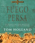 Fuego persa - Tom Holland portada