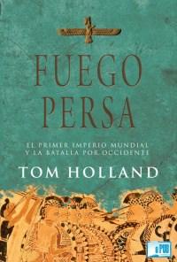 Fuego persa - Tom Holland portada