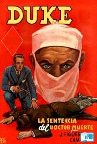La sentencia del doctor Muerte - J. Figueroa Campos portada