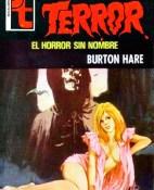 El horror sin nombre - Burton Hare portada