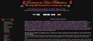 Romance at Heart Publications
