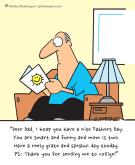 #Humor for #Writers – John Storywriter Son's Achievement