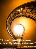 Quotes for Writers – Ray Bradbury #writers #writerslife #writerscafe