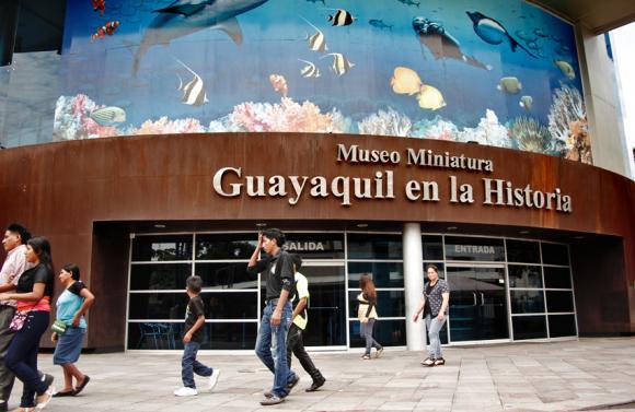Malecon 2000 Guyaquil que faire musées