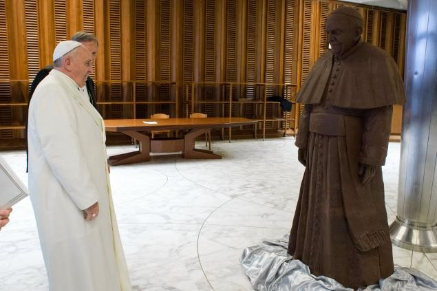 Chocolate Pope