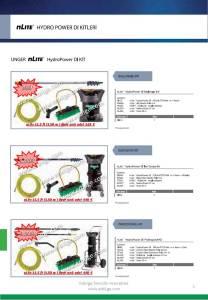 unger dış cephe yıkama makinası fiyat listesi