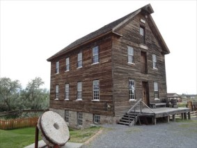 Benson Grist Mill and stone