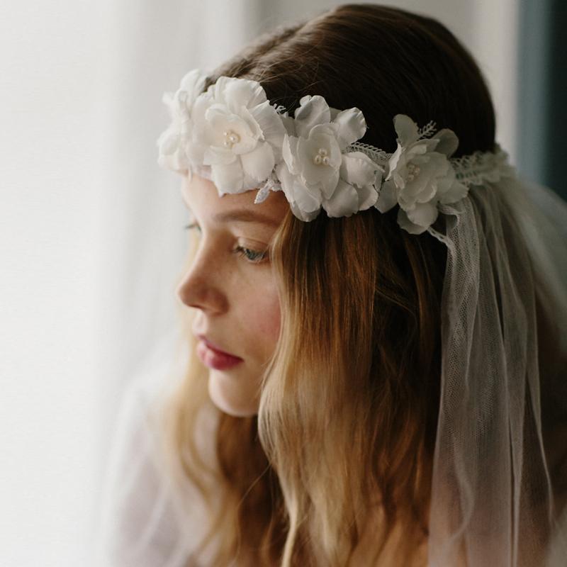 Constance flower crown