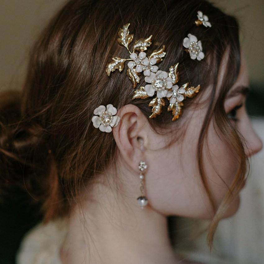 bridal hair pin set