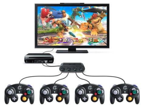 WiiU_GameCubeControllerAdapter_Super_Smash_Bros