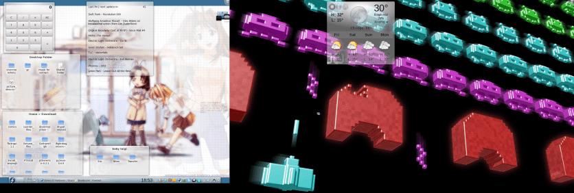 desktop 1 - kde 4.5 - 10Feb2011