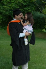 Scarlett and I after graduation