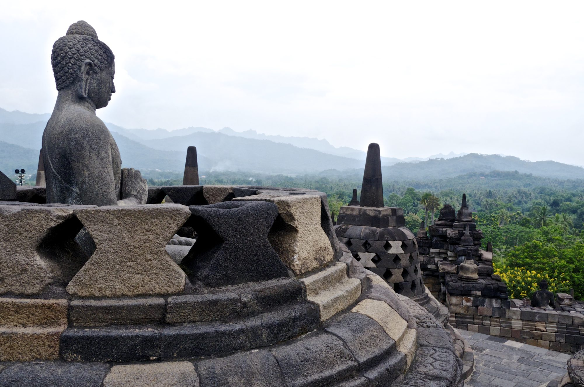 Visiting Borobudur and Prambanan