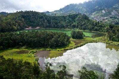 Colorful Lakes, Dieng Plateau