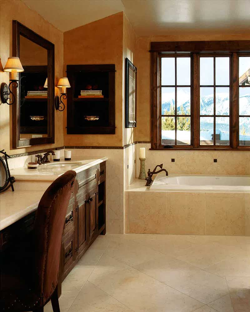 Fulgurant Spanish Bathroom Spanish Language Master Bathroom Spanish Peaks Elizabeth Robb Interiors 800x1000 Women S Bathroom houzz-03 Bathroom In Spanish