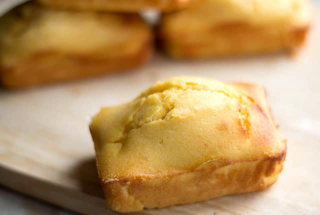 Mini Honey Cornbread loaves