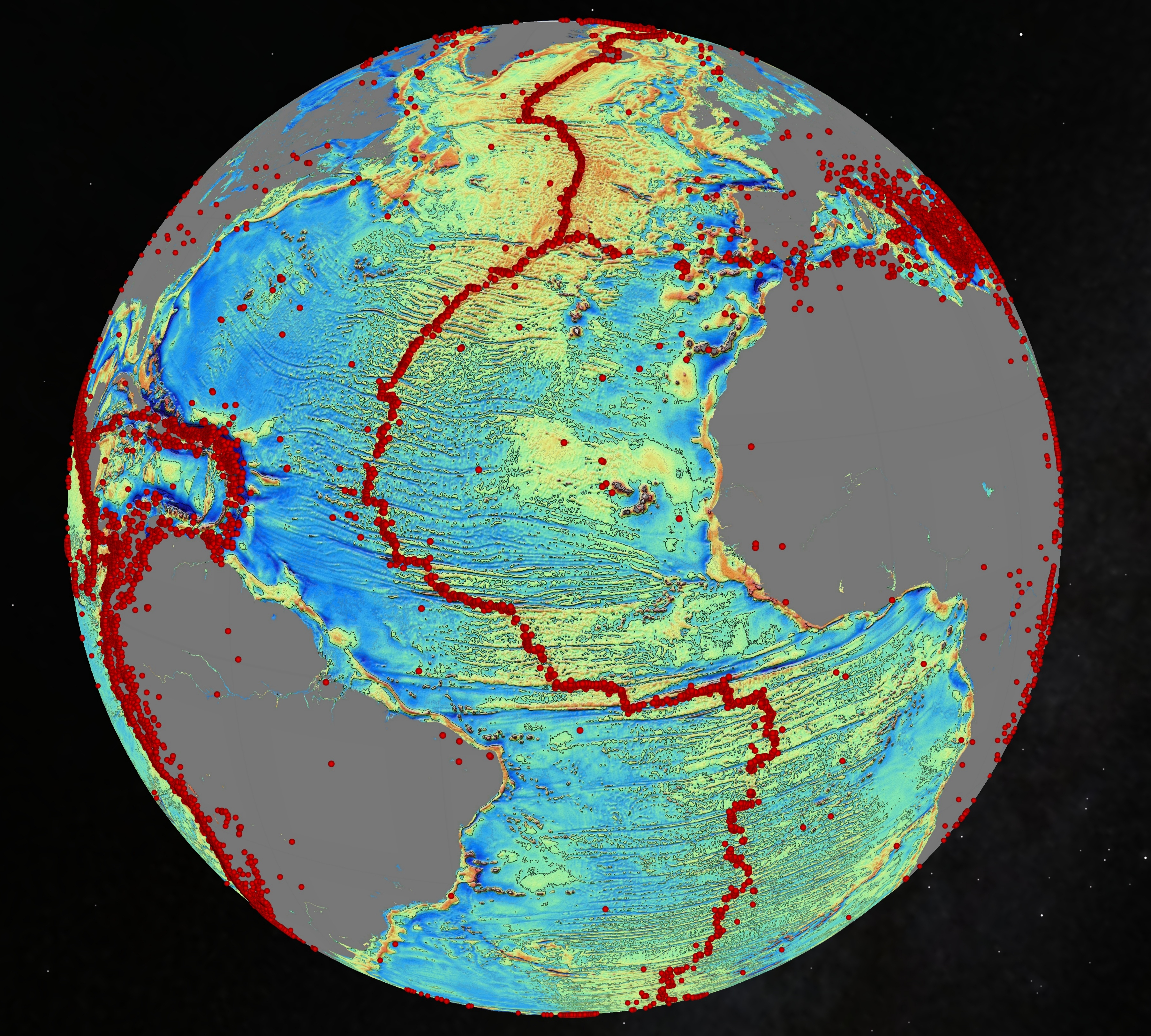 Gravity s magic new seafloor map shows earth s uncharted for 10 facts about the ocean floor