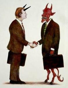 Quem fez pacto com o diabo pode desfazer o pacto?