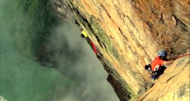 Video de escalada al Salto Angel equipo venezolano-brasileño en el Tepuy Auyantepuy