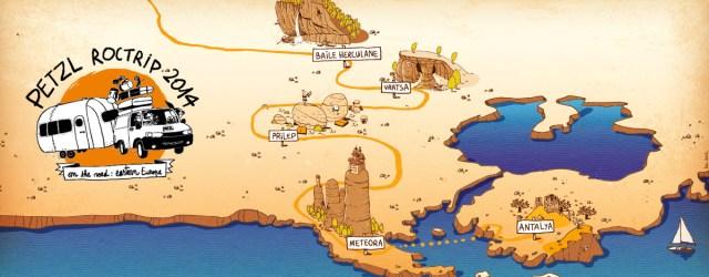 Este año el equipo de Petzl RocTrip se lanza 40 días de carretera, 5 países atravesados, más de 2000 km recorridos y más de 10 […]