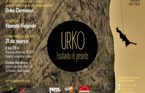 Documental escalada: URKO, Escalando el presente