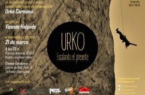 Documental escalada: URKO, Escalando el presente