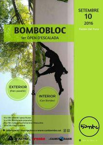 BomboBloc 1er open de escalada en Olot @ Rocódromo Can Bombo | Olot | Catalunya | España