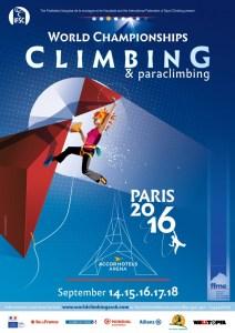 Campeonato del Mundo de Escalada IFSC 2016 en París @ Accor Hotels Arena | Paris-12E-Arrondissement | Île-de-France | Francia