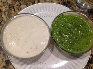 We love good sauces in our home.  These two look good and taste even better.