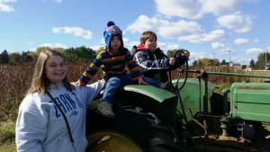 Aunt Betsy with the boys