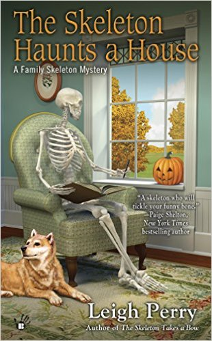 skeleton haunts the house