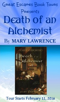 DEATH OF AN ALCHEMIST small banner