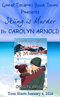 SKIING FOR MURDER small banner
