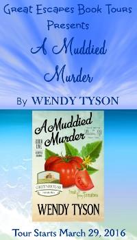 A MUDDIED MURDER small banner