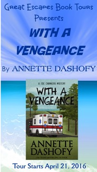 WITH A VENGEANCE small banner