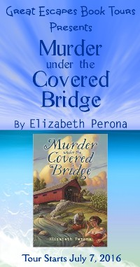 murder under the covered bridge small banner