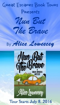 nun but the brave small banner