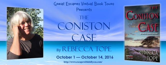 http://www.escapewithdollycas.com/great-escapes-virtual-book-tours/books-currently-on-tour/coniston-case-rebecca-tope/