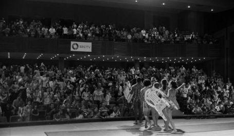 Recepção mais que positiva do público de Toledo/Paraná, em nossa estreia nacional.
