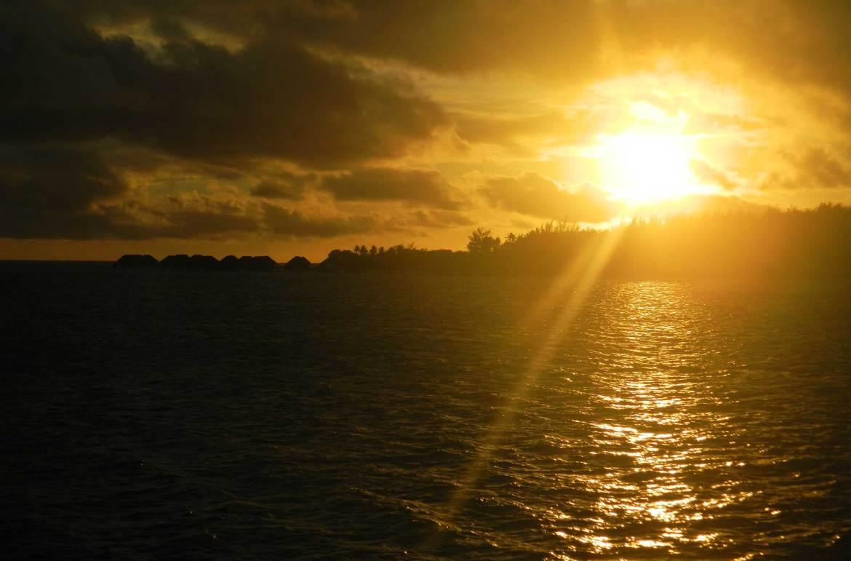 Pôr do sol em Bora Bora - dicas da polinésia francesa